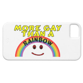More Gay Than A Rainbow Barely There iPhone 5 Case