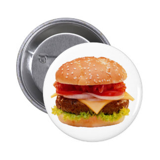 More Hamburg more burger 6 Cm Round Badge