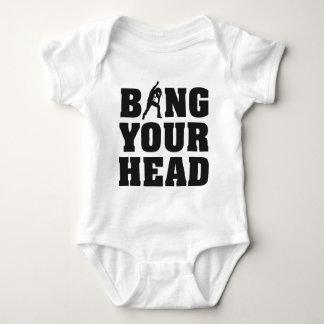 more headbanger fear for your head heavy metal fan t shirt