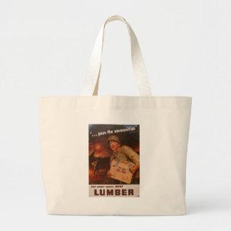 More Lumber World War 2 Canvas Bags