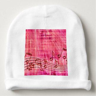 More music baby beanie