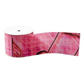 more music pink grosgrain ribbon