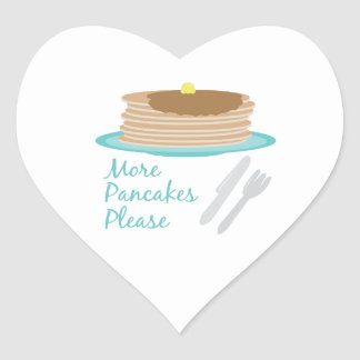 More Pancakes Please Stickers