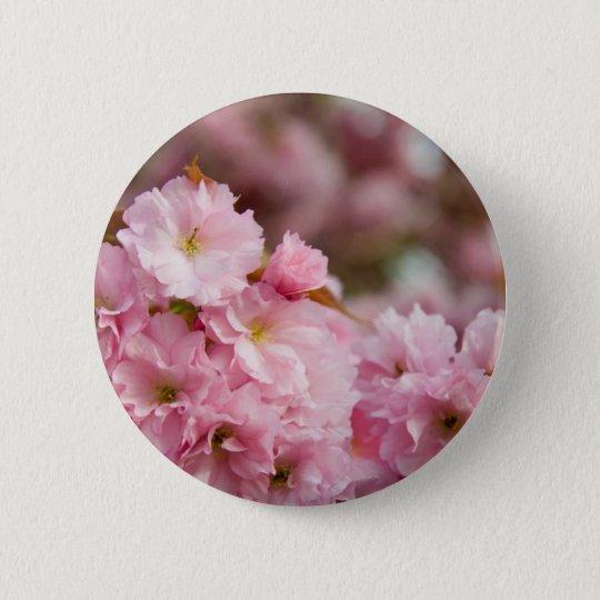 More Sakura Blossoms 6 Cm Round Badge