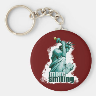 More smiting! Statue of Liberty keychain