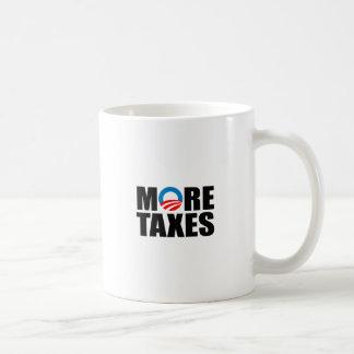 MORE TAXES CLASSIC WHITE COFFEE MUG