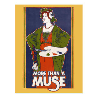 More than a Muse Postcard