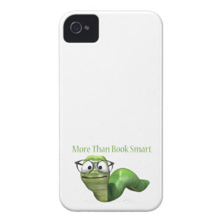 More Than Book Smart Book Worm iPhone 4 Cases