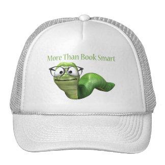More Than Book Smart Book Worm Trucker Hats
