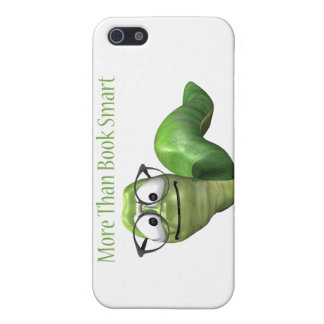 More Than Book Smart Book Worm iPhone 5/5S Case