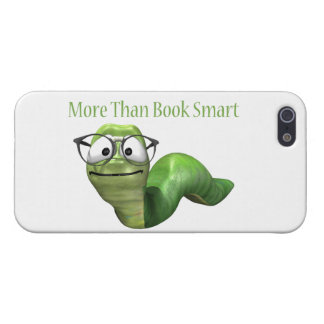 More Than Book Smart Book Worm iPhone 5/5S Covers