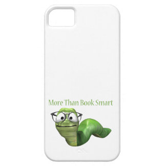 More Than Book Smart Book Worm iPhone 5 Cases