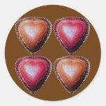 More Than Chocolate Round Sticker