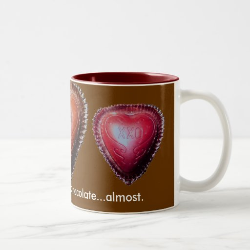 More Than Chocolate Two-Tone Mug