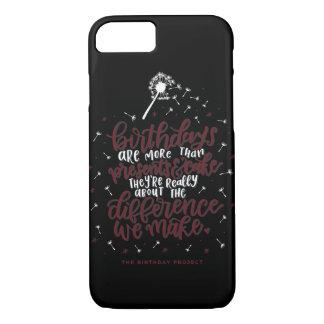 More Than Presents & Cake Phone Case -Black