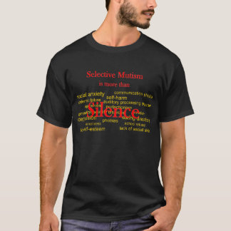 More than Silence dark T-Shirt