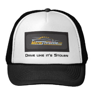 More Throttle brand baseball cap