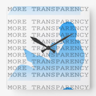 More Transparency Wallclocks