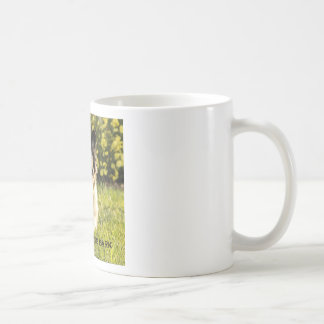 More Wag - Less Bark Classic White Coffee Mug