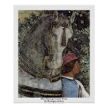 More Waiting Grooms: Horse By Mantegna Andrea