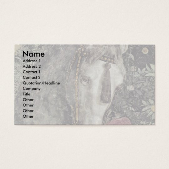 More Waiting Grooms: Horse By Mantegna Andrea Business Card