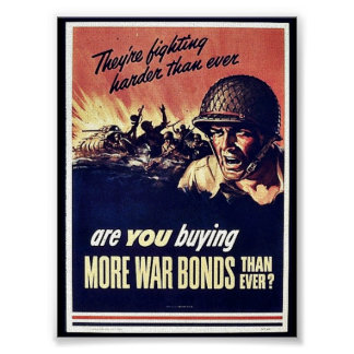More War Bonds Poster