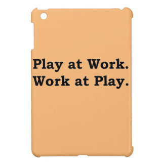 More Zen Anything Sayings - Play at Work iPad Mini Cover