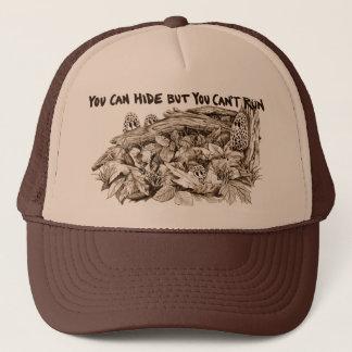 Morel Mushroom Brown Trucker Hat