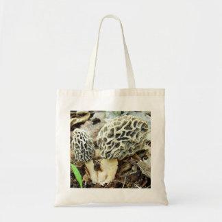 Morel Mushroom Family Tote Bag