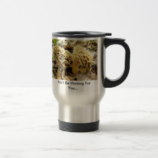 Morel Mushroom Morning Travel Mug