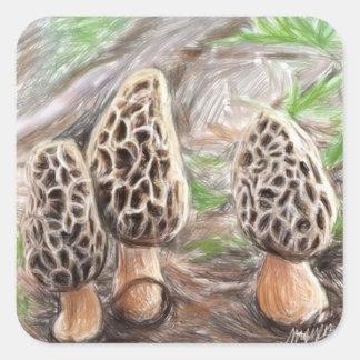 Morel Mushroom Stickers