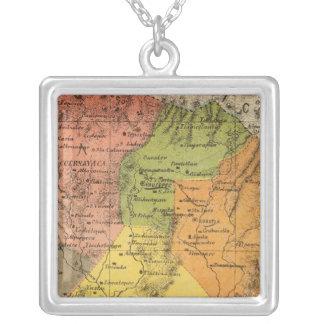 Morelos, Mexico Silver Plated Necklace