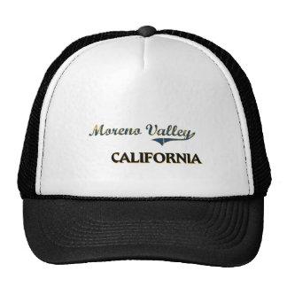 Moreno Valley California City Classic Hats