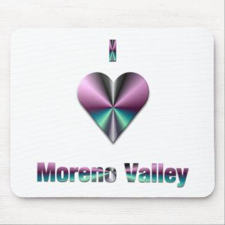 Moreno Valley -- Purple Turquoise Mousepad