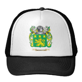 Moretti Coat of Arms (Family Crest) Cap