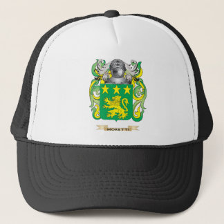 Moretti Coat of Arms (Family Crest) Trucker Hat