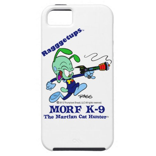 morf K-9 The Martian Cat Hunter iPhone 5 Covers