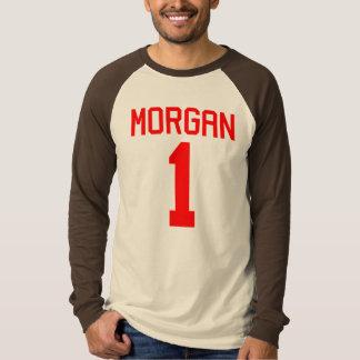 Morgan #1 Football Jersey T-Shirt