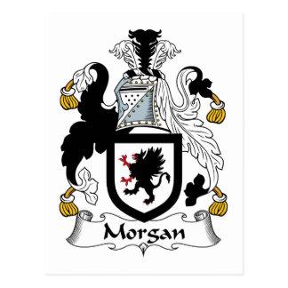 Morgan Family Crest Post Card