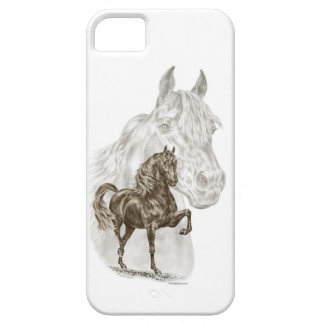 Morgan Horse Art iPhone 5 Cases