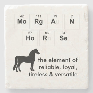 Morgan Horse Coaster