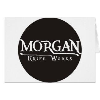 Morgan Knife Works Greeting Cards