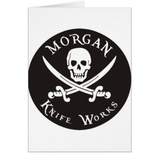Morgan knife works greeting card