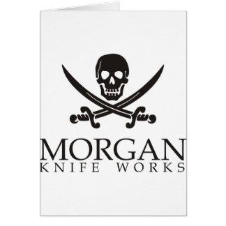 Morgan knife works card