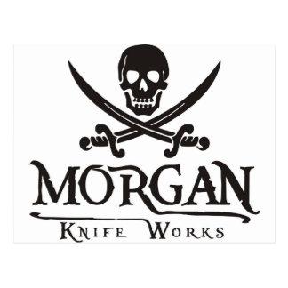 Morgan knife works post card
