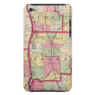Morgan, Scott, Greene, Calhoun, Jersey counties iPod Touch Cases