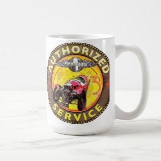 Morgan three wheeler service coffee mug