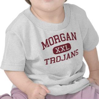 Morgan - Trojans - High School - Morgan Utah T Shirt