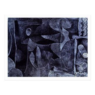Morgangrau by Paul Klee Post Card