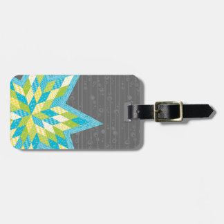 Morgan's Star Bag Tag